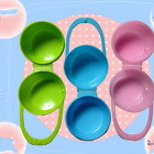 Portable Clear Baby Dummy Soother Pacifier Nipple Travel Storage Box Cradl Case