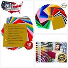 Permanent Adhesive Backed Vinyl Prime Cuts Assorted Color Sheets Silhouette Came