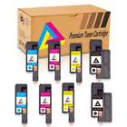 4-12PK Color Toner Cartridge Set for Dell E525w E525 Printer - High Yield Toner