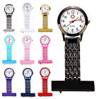 Stylish Clip-on Pocket Quartz Analog Brooch Medical Nurse Fob Watch Gift Top