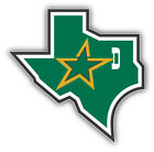 Dallas Stars NHL Hockey Map Logo Car Bumper Sticker - 9'', 12'' or 14'' $13.99 USD on eBay