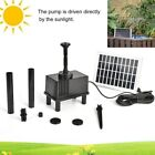 2.5W 200L/H Solar Water Pump Garden Aquarium Pool Pond Water Feature Fountain