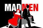 156501 Mad man TV Show Wall Print Poster UK