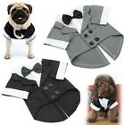Pet Dog Formal Tuxedo Bow Tie Clothes Suit Puppy Wedding Party Pet Costumes Gift
