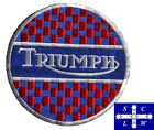"""Motorcycle Riders Embroidered Patch """"Triumph Round"""" Size: 11.00 cm $7.0 AUD on eBay"""
