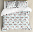 Nursery Nature Duvet Cover Set Twin Queen King Sizes with Pillow Shams Ambesonne