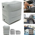 Inflatable Travel Footrest Leg Foot Rest Travel Pillow Pad Kids Bed Portable USA