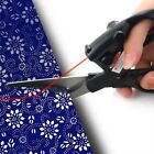 Laser Guided Fabric Scissors Trimmer Sewing Cut Straight Fast Paper Craft PM