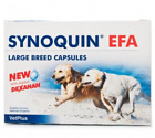 SYNOQUIN EFA NEW WITH ADDED DEXAHAN Large Breed Tablet/Caps x 30 - BEST PRICE!!