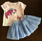 NWT Gymboree Girl Bright Days Ahead Horse Tee& TuTu Skirt  Outfit 2T 3T 4T 5T