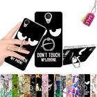 For Wiko U Feel Lite Kickstand Ring Case Cover Animal Cat Feather Butterfly Rose