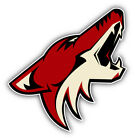 Phoenix Coyotes NHL Hockey Head Logo Car Bumper Sticker - 3'' or 5'' on eBay