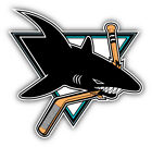 San Jose Sharks NHL Hockey Head Logo Car Bumper Sticker Decal  9'', 12'' or 14'' on eBay