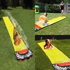 New 4.8m Slide Water Fun Backyard Slide Outdoor Summer Pools For Kids Adult Toys