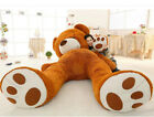200cm Super Huge Teddy Bear Cover Plush Toy Shell With Zipper Gift (Only Cover)