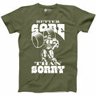 Better Sore Than Sorry Workout Tshirt Funny Gym Bodybuilding Fitness New Tee A20