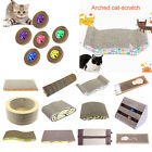Corrugated Paper Kitten Cat Scratch Board Pad Scratcher Soft Bed Mat Claws Toys