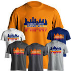 Houston Astros Crush City Baseball Skyline Graphic Adult Short Sleeve T-Shirt on Ebay