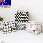 Women Portable Lunch Bag Insulated Thermal Cooler Box Carry Tote Travel Bag NG09