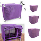 Dog Puppy Mosquito Net Crate Covers Kennel Pet Breathable Privacy Protector