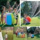 75CM Water Ball Inflatable Spray Outdoor Beach Pool Fun Swimming Toy For Kids
