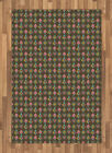 Childish Area Rug Decorative Flat Woven Accent Rug Home Decor 2 Sizes