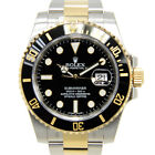 New Rolex Submarine Black Automatic Stainless Steel Gold 116613LN Watch 40mm