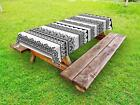 Ethnic Henna Outdoor Picnic Tablecloth Ambesonne in 3 Sizes Washable Waterproof