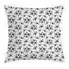 Summer Flowers Throw Pillow Cases Cushion Covers Home Decor 8 Sizes by Ambesonne