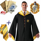 Harry Potter Gryffindor Slytherin Ravebclaw Wand Adult Cosplay Robe Tie Scarf