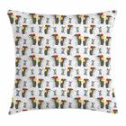 Apple Fruit Throw Pillow Cases Cushion Covers Home Decor 8 Sizes by Ambesonne