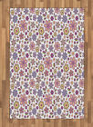Oriental and Nature Area Rug Flat Woven Accent Rug Home Decoration 2 Sizes