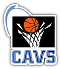 Cleveland Cavaliers NBA Basketball Ball  Bumper Sticker  - 9'', 12'' or 14'' on eBay