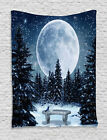 Classic Fabric Tapestry Wall Hanging Art Decoration for Room 2 Sizes