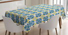 Spanish Tablecloth by Ambesonne 3 Sizes Rectangular Table Cover Decor