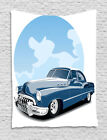 Boys Cars Tapestry Wall Hanging Form Decoration for Room 2 Sizes