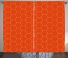 Exotic Geometry Curtains 2 Panel Set Decoration 5 Sizes Window Drapes