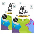Clothing Labels, Name Washer and Dryer Safe, No Iron, Kids Labels for...
