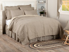 SAWYER MILL TICKING STRIPE QUILT -choose size & accessories-Farmhouse Bedding image