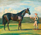 Race Horse Jockey Racing Sports Painting Alfred Munnings Quality Canvas Print