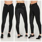 Chillout Horsewear High Waist Floral Silicone Full Seat Breeches - Black