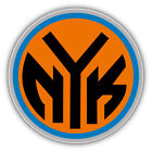 New York Knicks Basketball Car Bumper Sticker Decal - 9'', 12'' or 14'' on eBay