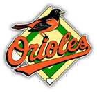 Baltimore Orioles MLB Baseball Logo Car Bumper Sticker Decal - 9'', 12'' or 14'' on Ebay