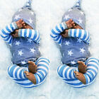 US Stock Newborn Baby Boys Girls Tops T-shirt Pants Leggings Hat Striped Outfits