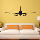 Uk_ New Airplane Aircraft Wall Stickers Decals Home Kids Bedroom Diy Decor Natur