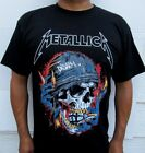 NEW! METALLICA COLOR DISARM HELMET SKULL GRENADE SKELETON T-SHIRTW image