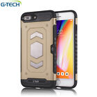 New Luxury Armor Case Cover For iPhone 6 / 6S Plus / 7 / 8 Plus &amp; iPhone X  <br/> 6 Color&#039;s # Card Slot # Solid Grip # Canadian Seller