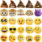 ALL STYLES EMOJI CUSHION COLLECTABLES 1 PC PLUSH MONKEY POO PILLOW RARE SOFT TOY