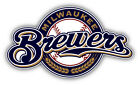 Milwaukee Brewers MLB Baseball Combo Car Bumper Sticker - 9'', 12'' or 14'' on Ebay