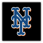 New York Mets MLB Baseball Symbol Logo Car Bumper Sticker - 9'', 12'' or 14'' on Ebay